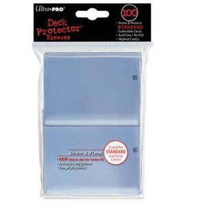 Ultra Pro 100ct Clear Standard Deck Protectors