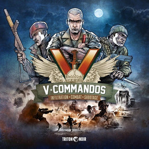 V-Commandos - Board Game - The Dice Owl