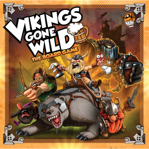 Vikings Gone Wild - Board Game - The Dice Owl
