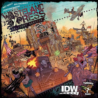 Wasteland Express Delivery Service - Board Game - The Dice Owl