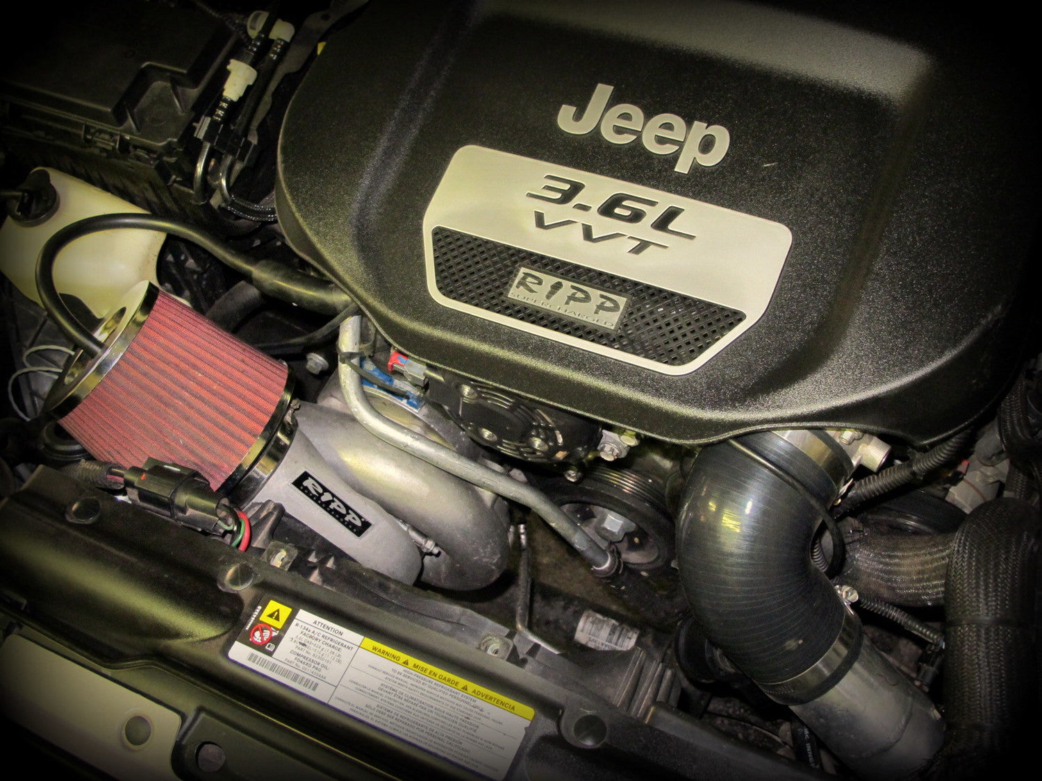 ripp superchargers 2015 - 2017 jeep wrangler jk 3.6 supercharger