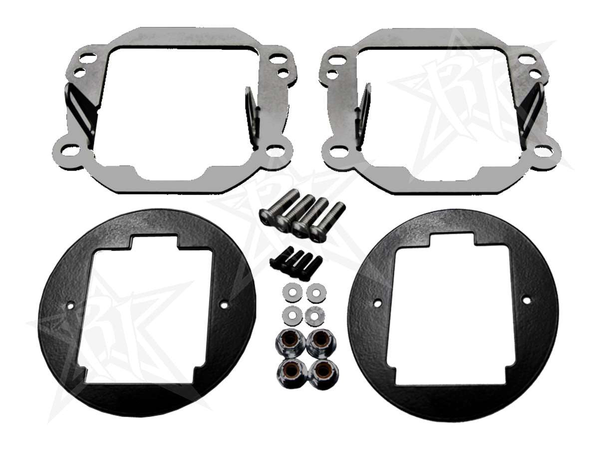 Rigid Industries Fog Light Kit Mayhem Offroad Jeep Wrangler Kits