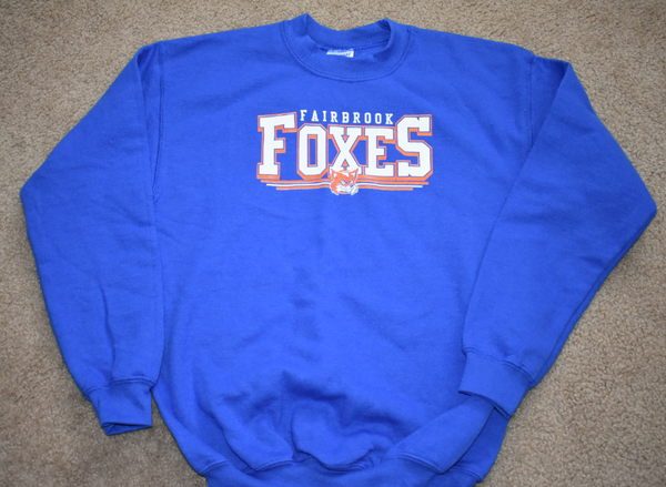 Fairbrook Elementary - Clearance - Crew Neck Hoody