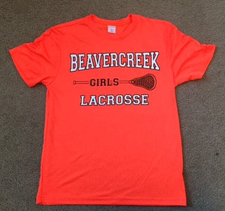 Beavercreek Girls Lacrosse - Dry Fit Short Sleeve T-shirt (2 Color Options) - Clearance