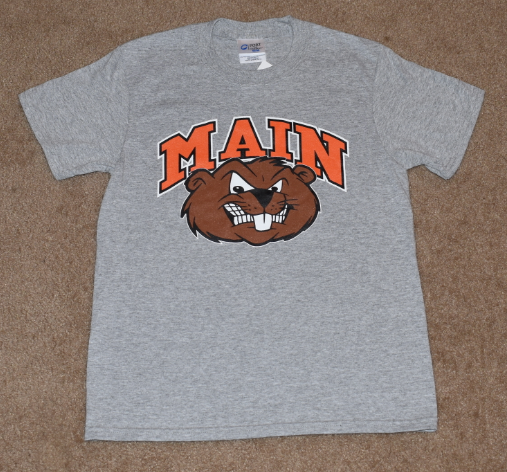 Main Elementary - Clearance (Adult Large Only) - Short Sleeve T-shirt - Grey - Beaverhead