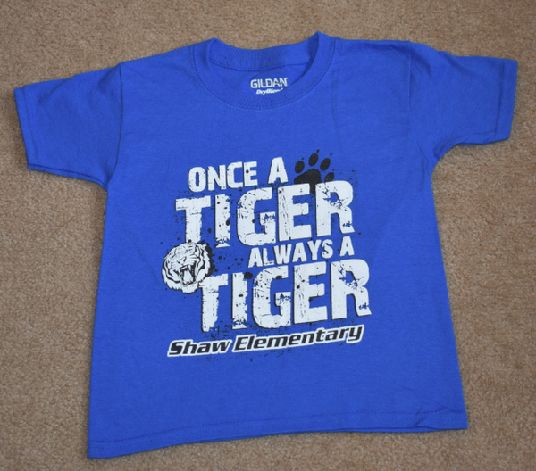 Shaw Elementary - Clearance - Tiger - Short Sleeve T-shirt