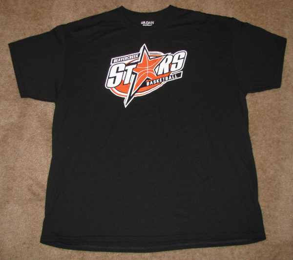 Beavercreek Stars - Short Sleeve T-shirt Options (2 Color Options) - Year End Inventory