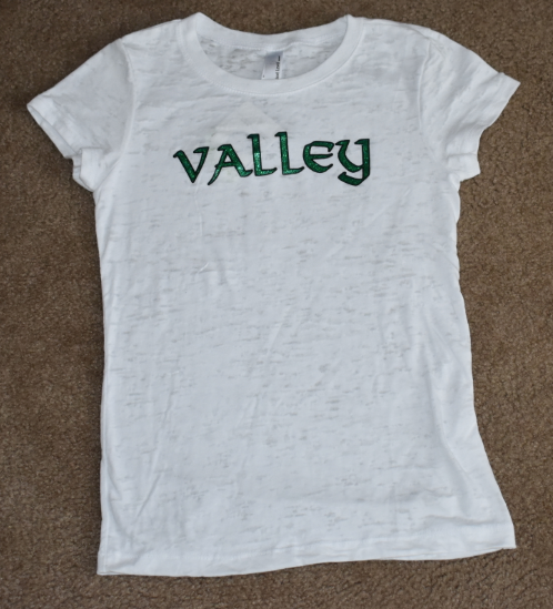 Valley Elementary - Clearance - Girls Burnout Shirt