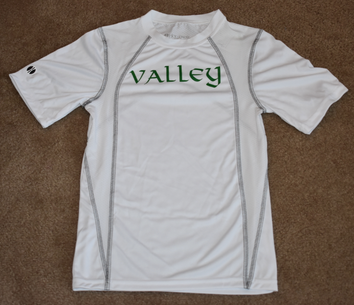 Valley Elementary - Clearance - Dry Fit Short Sleeve White Shirt