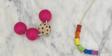 Summer Camp Sundays - Wooden Bead Necklace Workshop