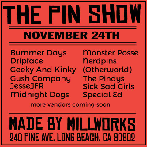 The Pin Show on Shop Small Saturday