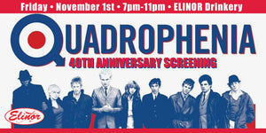 Quadrophenia Anniversary 40th Screenings on November 1 and 3