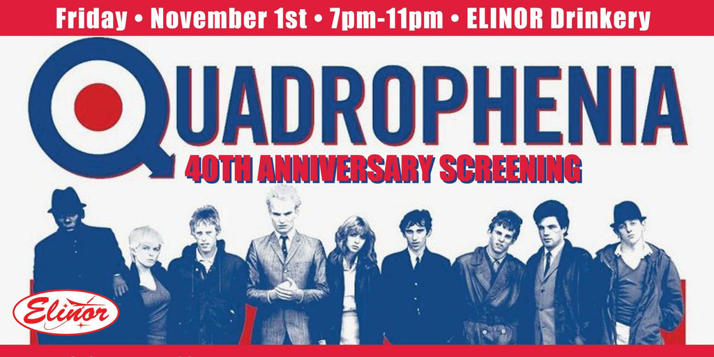 Quadrophenia 40th Anniversary Screening: November 1 and 3