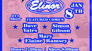 January 8 - Roll Up Your Sleeves Comedy Show