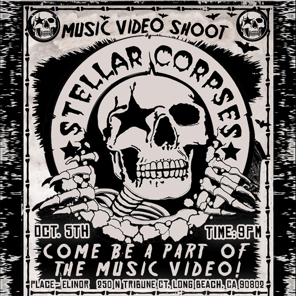 Stellar Corpses LIVE Video Shoot at Elinor