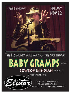 Baby Gramps and Cowboy & Indian LIVE at Elinor