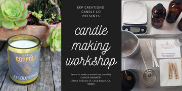 March 1 - Candle Making Workshop