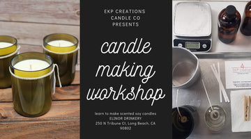 February 9 - Candle Making Workshop