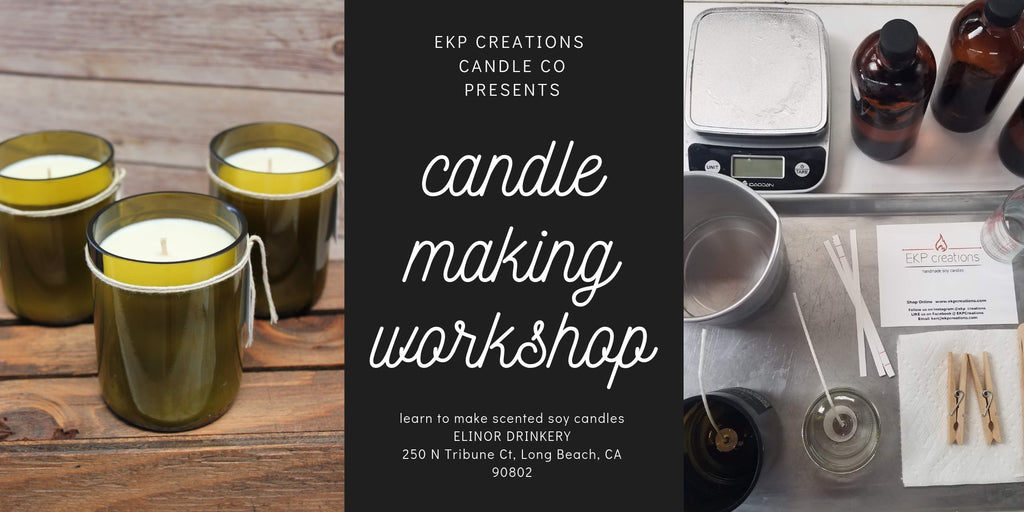 November Candle Making Workshops