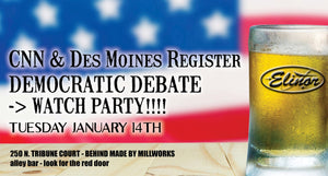CNN & Des Moines Register Democratic Debate Watch Party