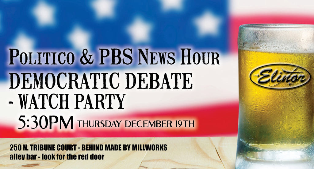 Politico & PBS News Hours Democratic Debate Watch Party
