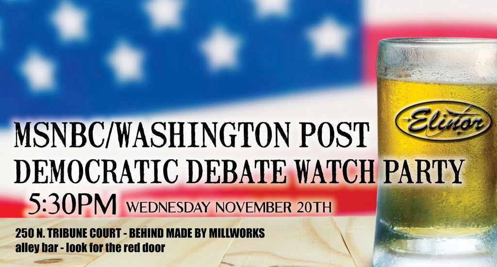MSNBC/Washington Post Democratic Debate Watch Party