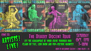 Deadly Docent Tour! - Battle for the Island of the Gargantuas