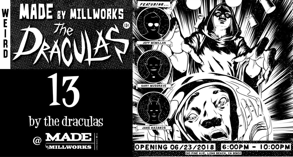 13 an Art Exhibit by The Draculas