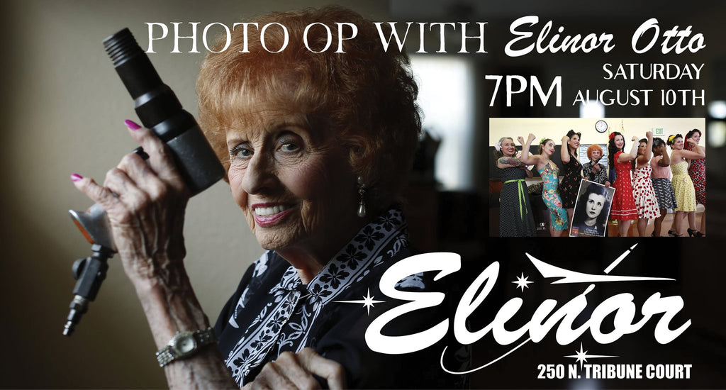 Special Appearance by Elinor Otto