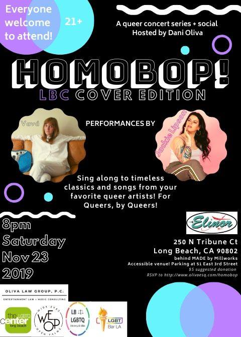 HomoBOP! Long Beach! - Queer Concert Series