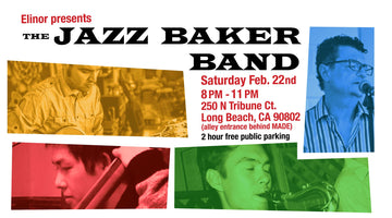 Jazz Baker Band Live at Elinor