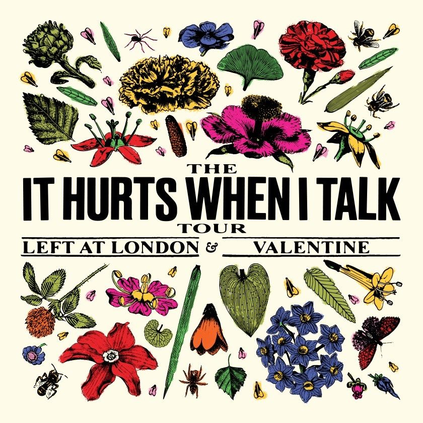 January 26 - It Hurts When I Talk Tour