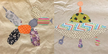 Summer Camp Sundays - Funky Patchwork Applique Workshop
