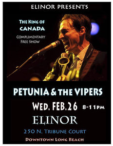 Petunia and the Vipers at Elinor