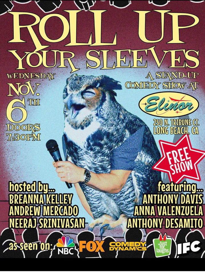 Roll Up Your Sleeves Comedy Show