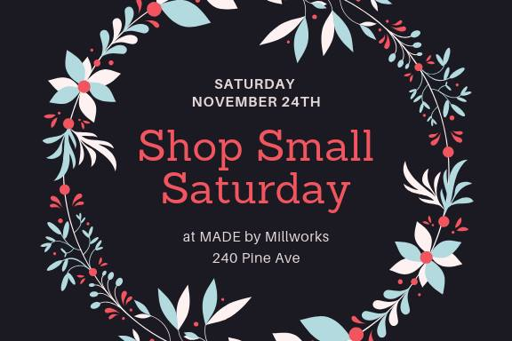 Shop Small Saturday at MADE!