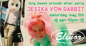 Art Walk After Party featuring Jessica Von Rabbit