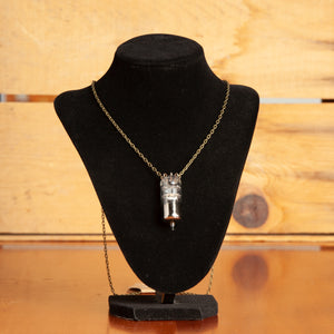 Vintage Vacuum Tube Chain Necklace