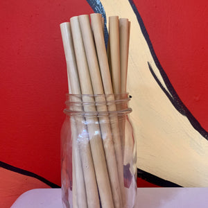Bamboo Reusable Straw Collection