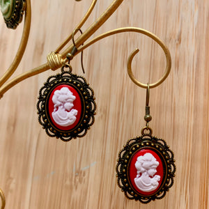 Accessory Alchemy Cameo Earring Collection