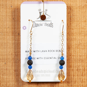 Dancin' Beads Lava Rock Earring Collection