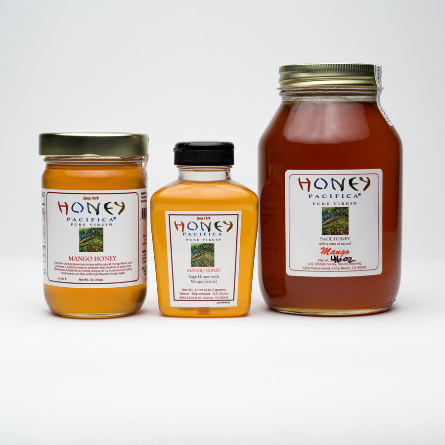 Honey Pacifica Flavored Honey Collection
