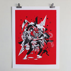 Gollo limited edition print by Joon the Goon