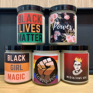 Scented Statment Candles
