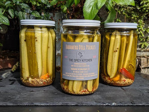 The Spicy Kitchen Pickle Collection