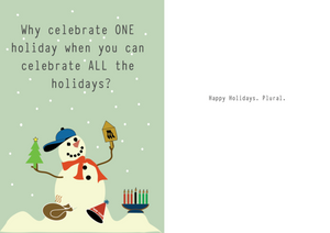 Yellow Grass Holiday Card Collection