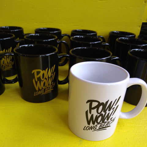 2018 Pow Wow Mug (yellow or black print)