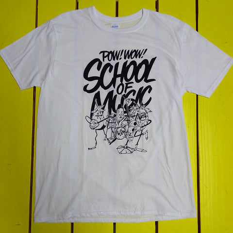 2018 Pow! Wow! School of Music Tee by the Draculas