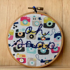 Embroidery Hoop Wall Art Collection
