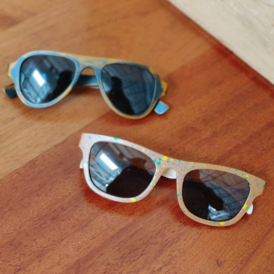 Bamboo Frame Sunglasses Collection